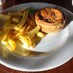 THIS PIE WAS CHOSEN OFF THE SPECIALS BOARD. THE DESCRIPTION OF THE PIE WAS FAR REMOVED FROM REAL