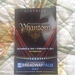 Playbill for Phantom