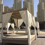 Hire a cabana for the day!