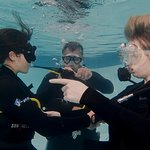 Scuba courses in our heated indoor pool with experienced instructors
