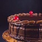 Azafran's Famous Chocolate cake.