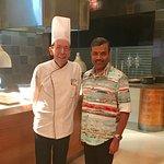 With Italian Master Chef Eraldo Colazzo