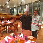 With Rishi Verma, Sous Chef