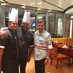 With Sous Chef Rishi & Executive Chef Gaurav Anand