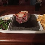 Hot Stone surf and turf