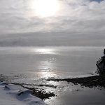 "Lake Superior and ""sea smoke"""