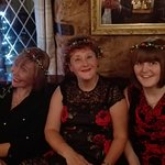 A fantastic family Christmas gathering in a perfect setting with great food drink and staff many