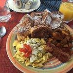 Foto de Las Vistas Cafe at Siete Mares Bay Inn
