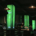 Carlsberg Pillars at the Bar