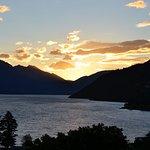 View at sundown