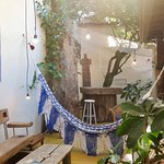 Cozy, private and relaxed atmosphere for before and after-surf