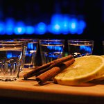 What would you prefer tequila with salt and lemon or orange and cinnamon?