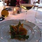 Tortellini with white wine