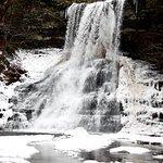 Cascades Falls on a warm winter day
