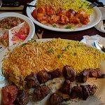 Lamb Shish Kebab & Chicken Shish Kebab