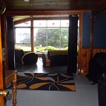 Lounge room looking in to sun room