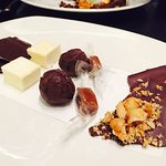Petit fours - the passionfruit marshmallows are amazing!