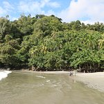 Tulemar's private beach