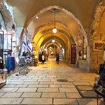 Shops inside the Old City of Jerusalem