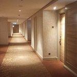 hallway at 32nd floor.
