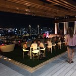 Rooftop bar at Avani (opposite Anantara and same hotel group)