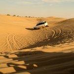 Dunes Bashing in Toyota Car
