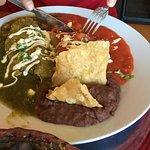 Enchiladas divorciadas <3