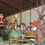 Christmas Buffet Deco