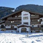 App. Eden Nordseite, im Hintergrund Astberg-Skilift