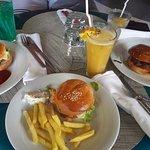 Hamburgers du food truck