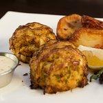 Harvest Plates & Pints menu item, Crab Cakes