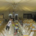 Robert hall that can accommodate to 250 person banquet set-up..