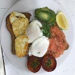 Healthy breakfast at Rendez vous