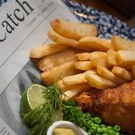 Traditional British Pub Food - Fish and Chips!