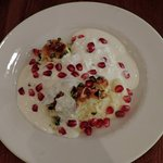 Yoghurt cake with pomegranate