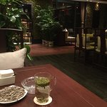 Tea house in Xizi Hotel, very nice setup, good service, a little bit pricey but value for money.