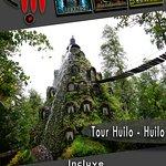 Ven a vivir las maravilla de Huilo Huilo cascadas, museos, increíbles hoteles junto a Tierra Cha