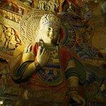 Buddha peint