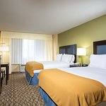 Our guest rooms come with free WiFi, flatscreen TV, and fridge