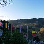 Blick vom Zimmer aufs Schwarzwaldpanorama