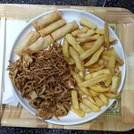 Chick chow mien& chip's