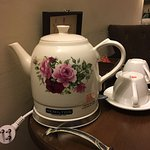 Cute kettle in our suite