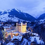 Gstaad Palace Winter View