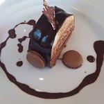 Bûche 3 chocolats