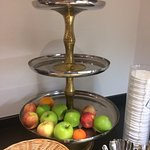 The fruit bowl at breakfast