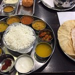 South Indian Thalli meal