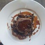 Pièce de boeuf, poêlée de champignons