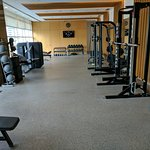 Second half of the gym