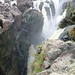 Close up of the main falls.