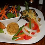 Great veggies and good portabello!